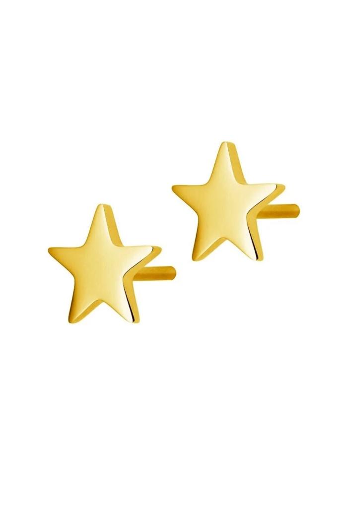 Sirius Studs Gold gold