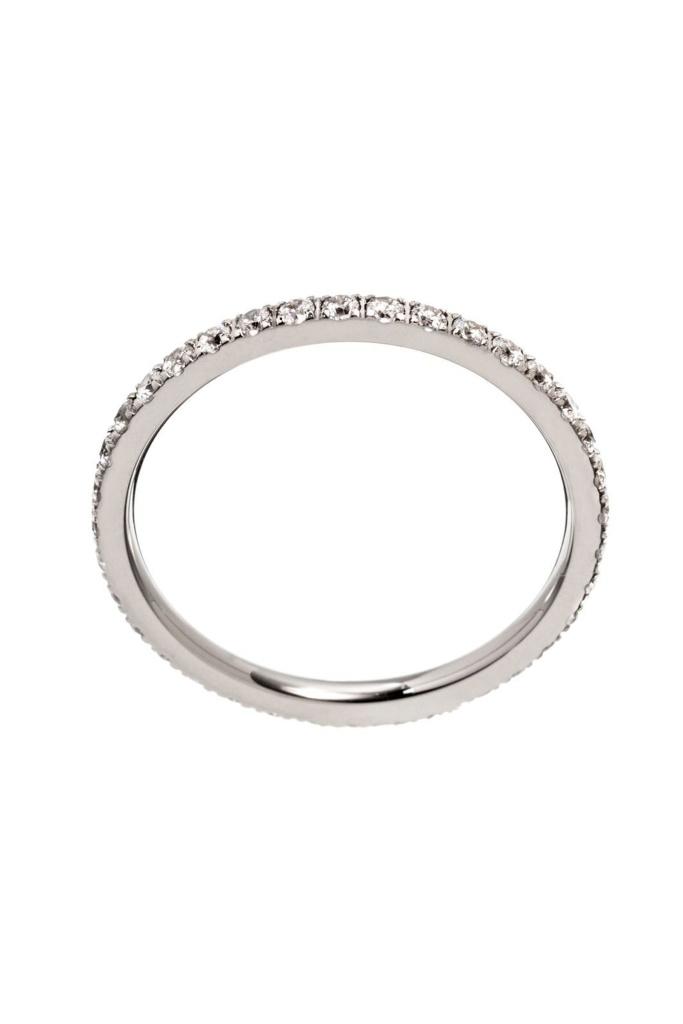 Glow Ring Steel Silver