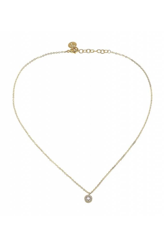 Thassos necklace mini gold gold