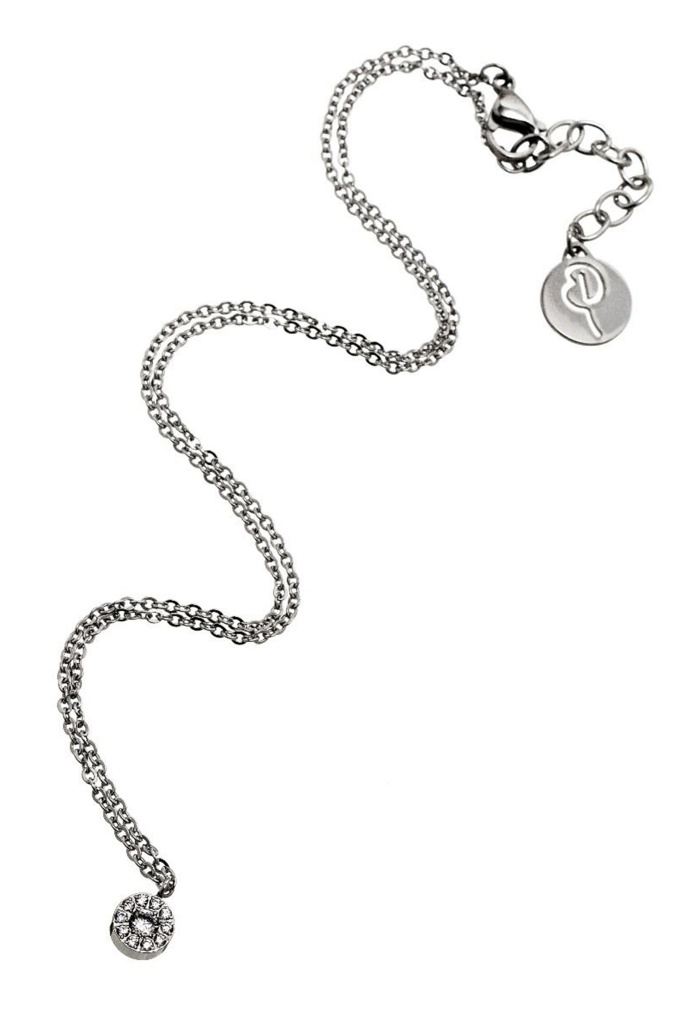 Thassos necklace mini steel steel