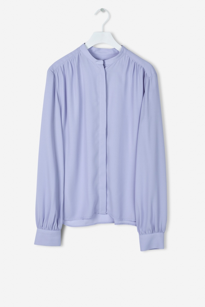Alva Blouse Hyacinth