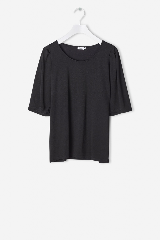 Pleat Top Black