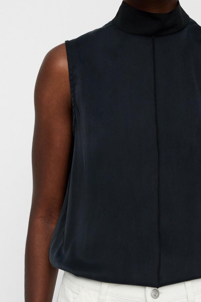 Oceana Washed Silk Black