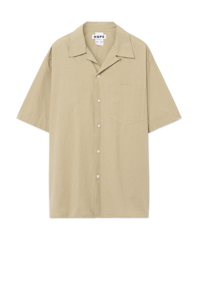 Camp Shirt beige