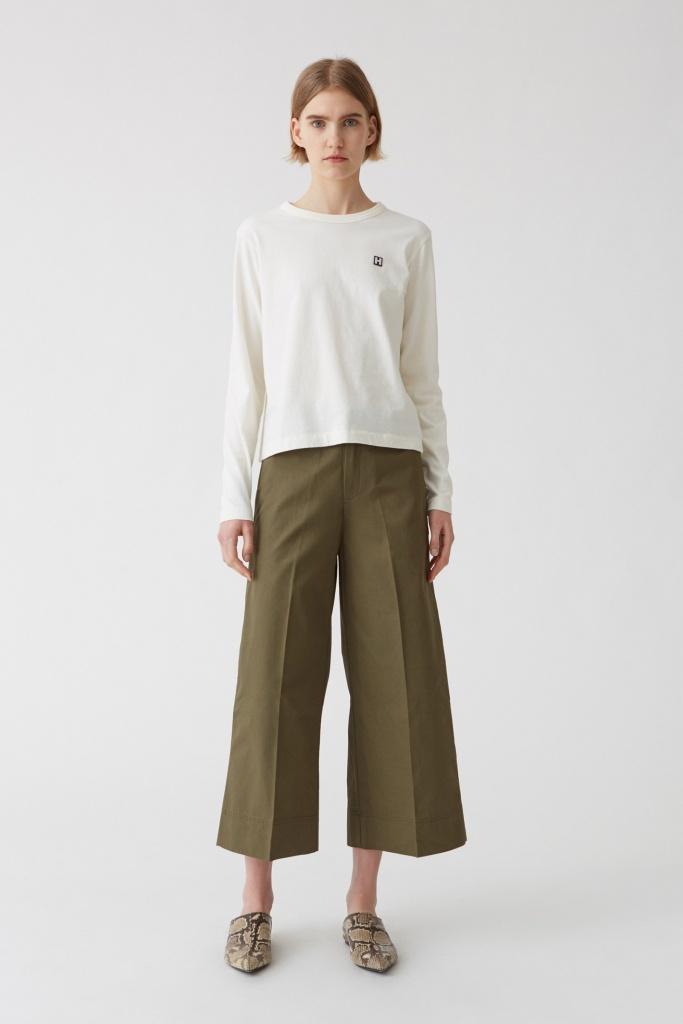 Frame Trouser Khaki Green