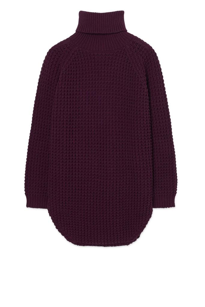 Grand Sweater Plum