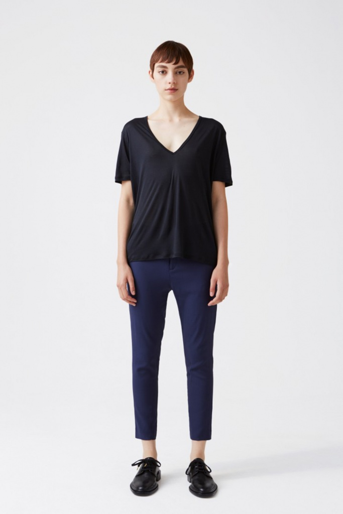 Krissy Trouser Dk Blue