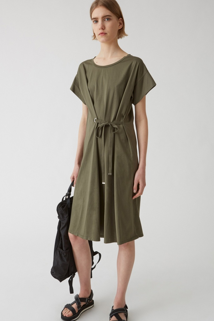 Lock Dress Khaki Green