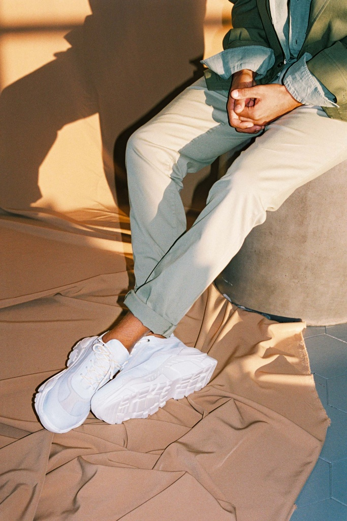 Billie Sneaker Mixton White