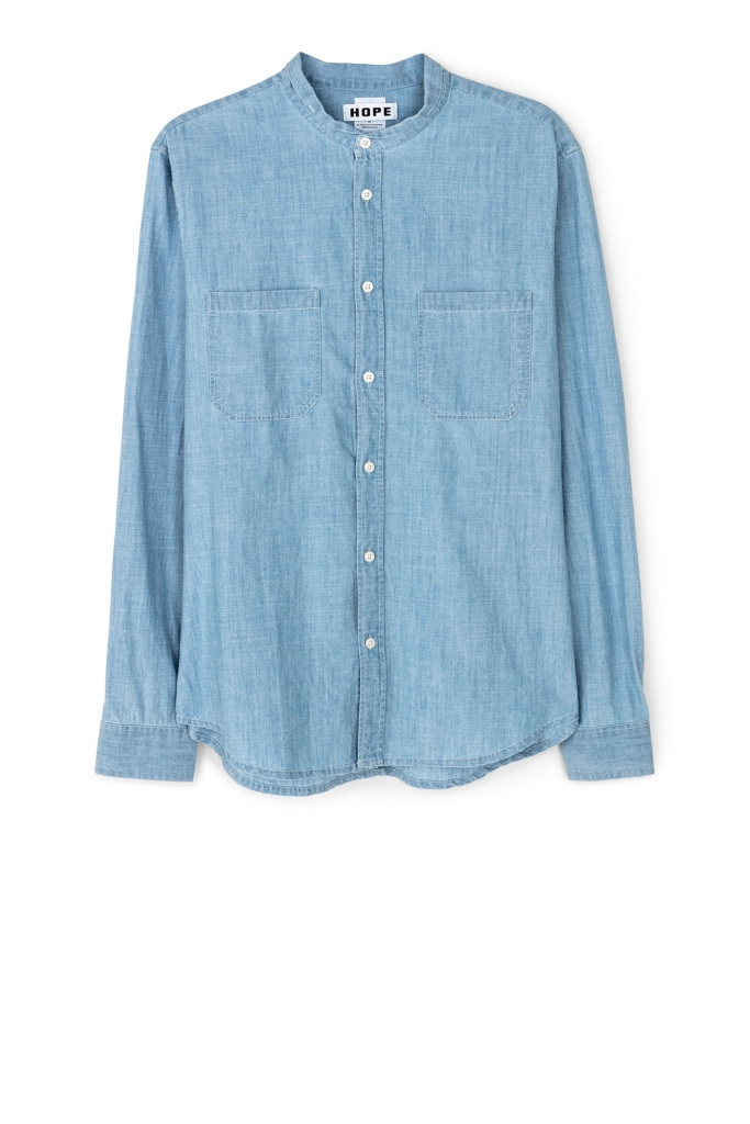 Rick Shirt lt blue denim