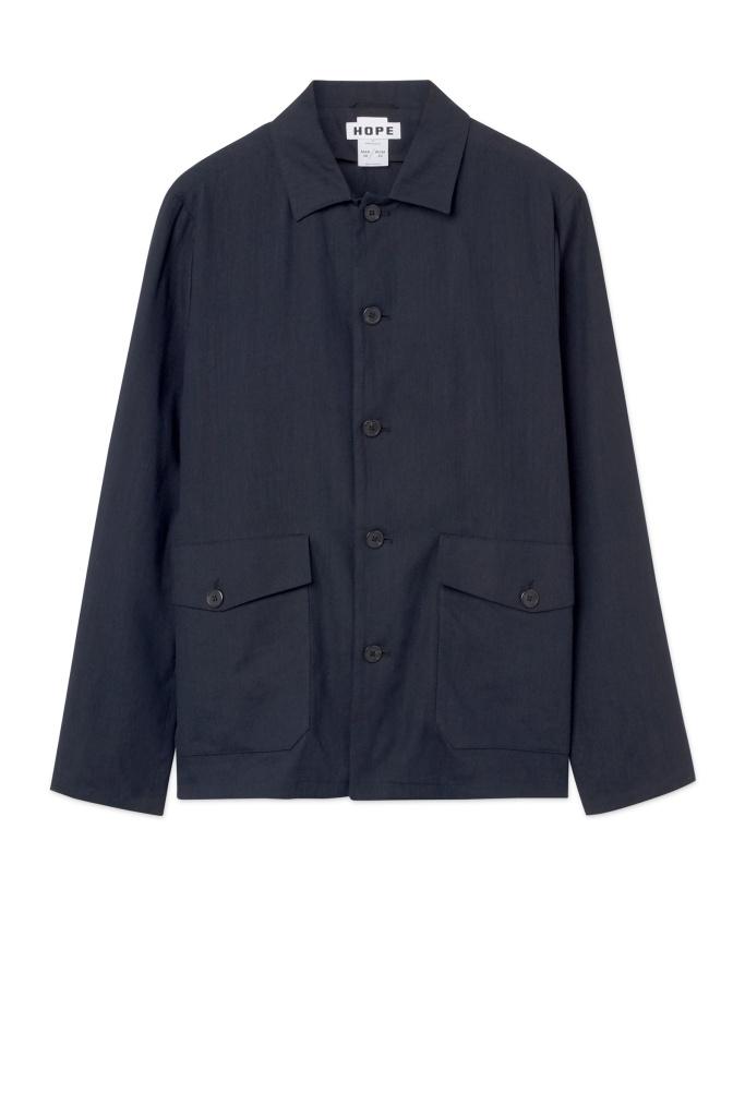 Shirt Jacket Dk Blue