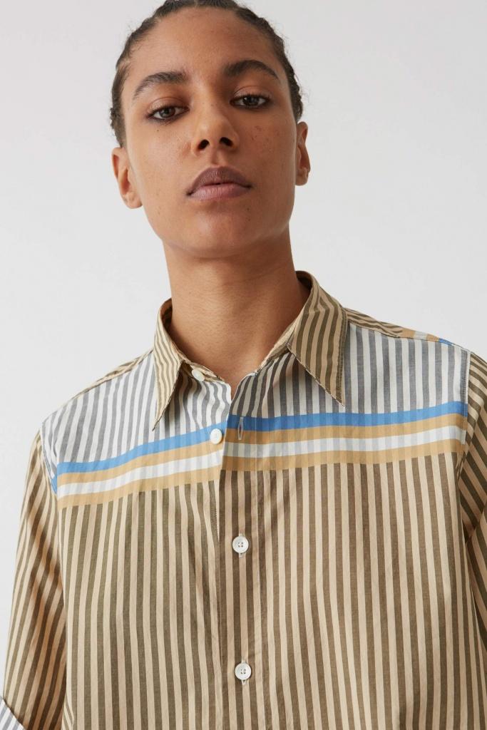 Tour Shirt Beige Stripe