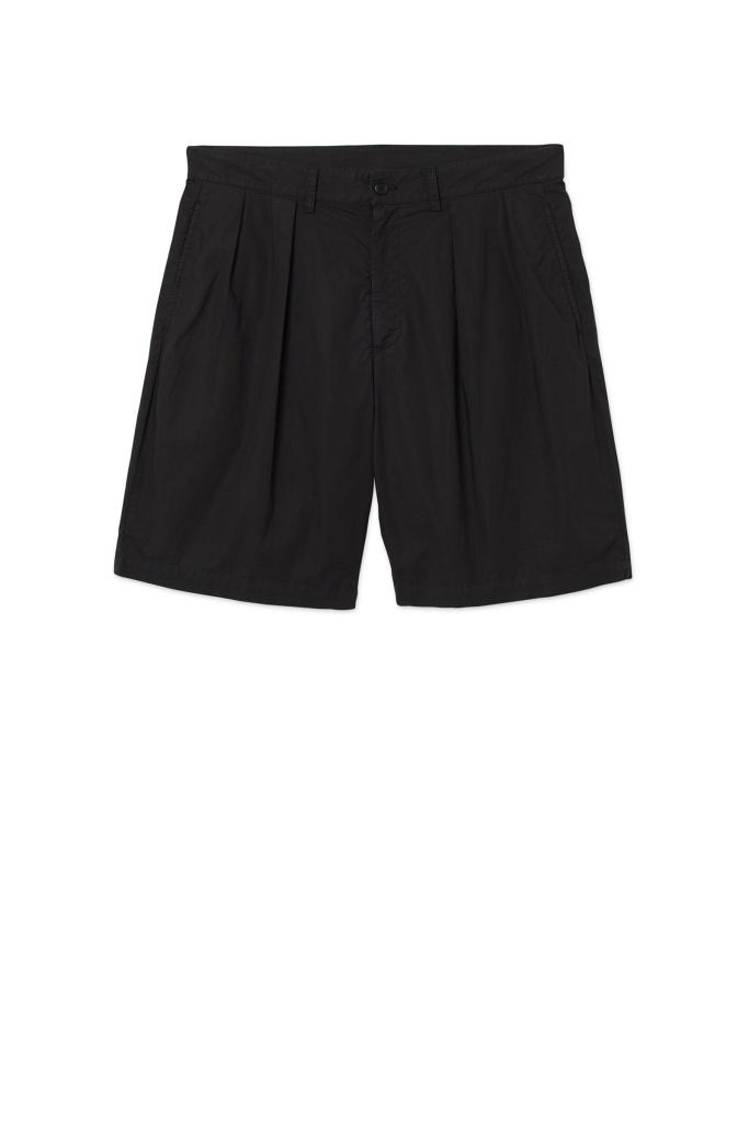 Tuck Shorts Faded Black