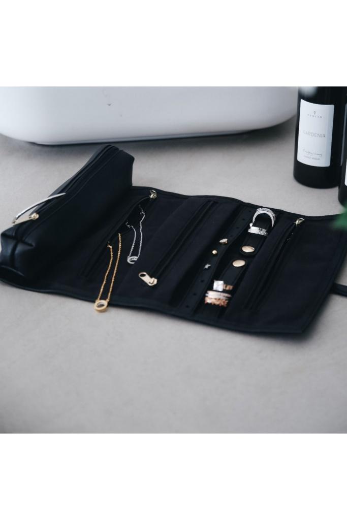 Jewellery Roll Black