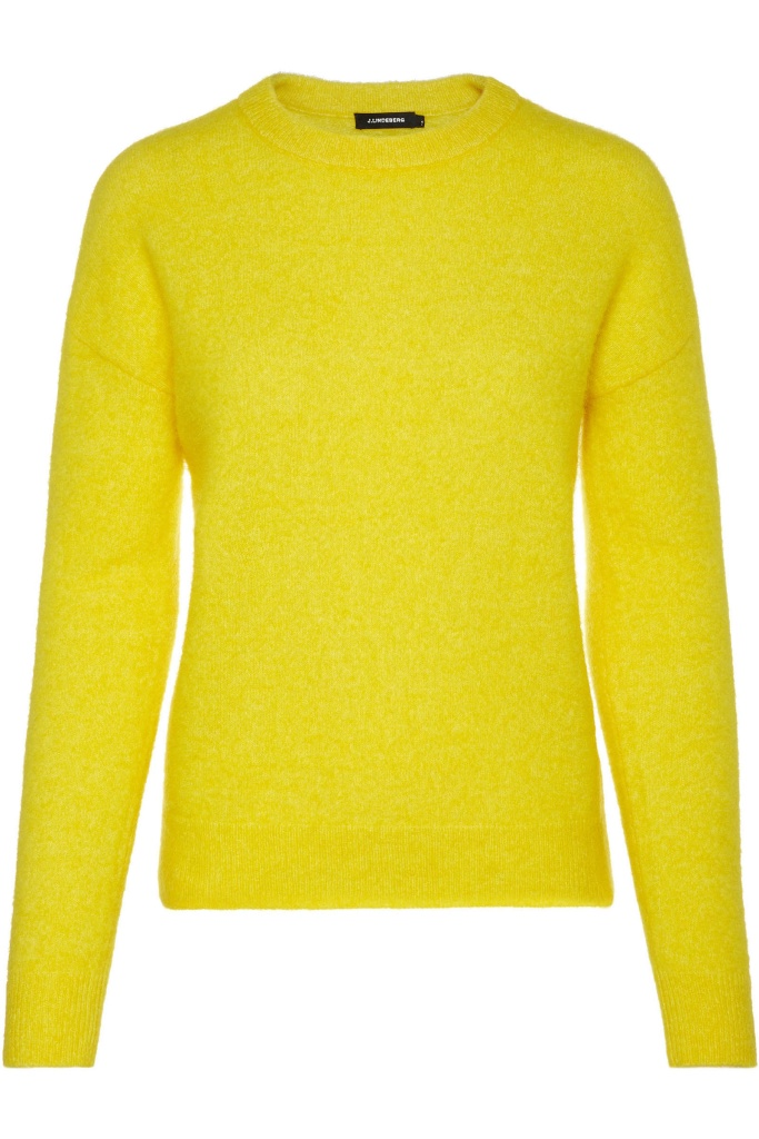 Kerli Fuzzy Mohair Kid broken yellow
