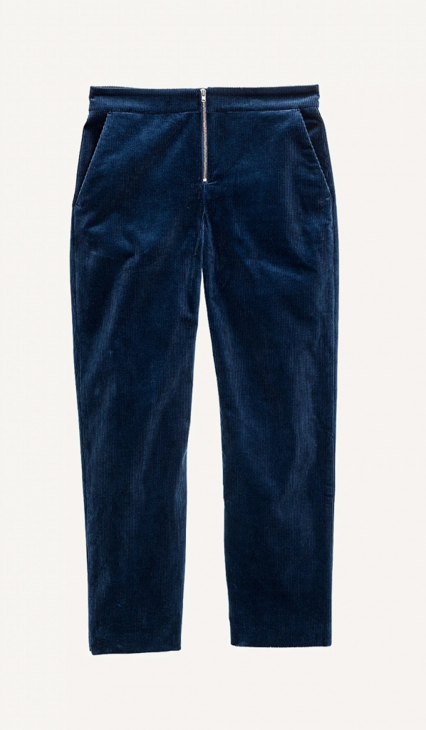 Judith cord trouser Navy