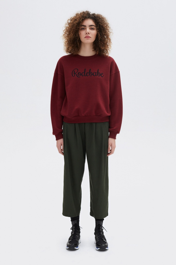 Rodebabe sweatshirt Merlot Grape