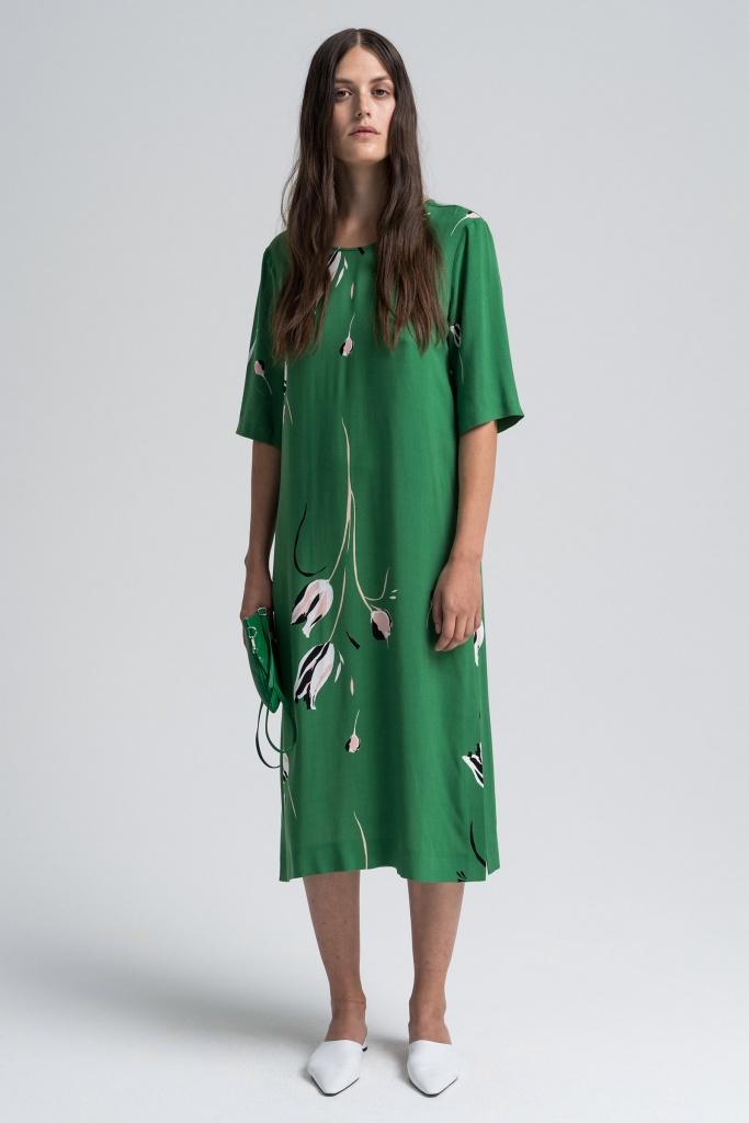 Mitsu Green Print