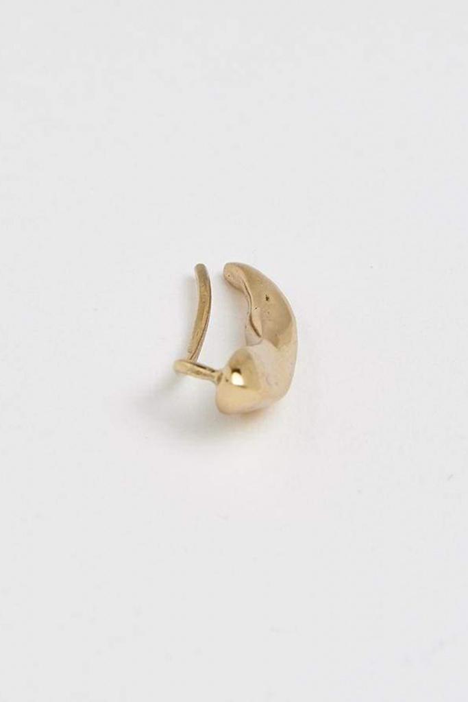 Molded ear climber s pol gold