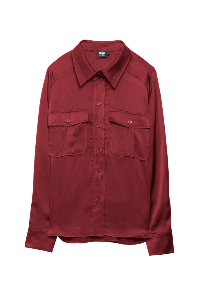 Penelope Pocket Shirt wine