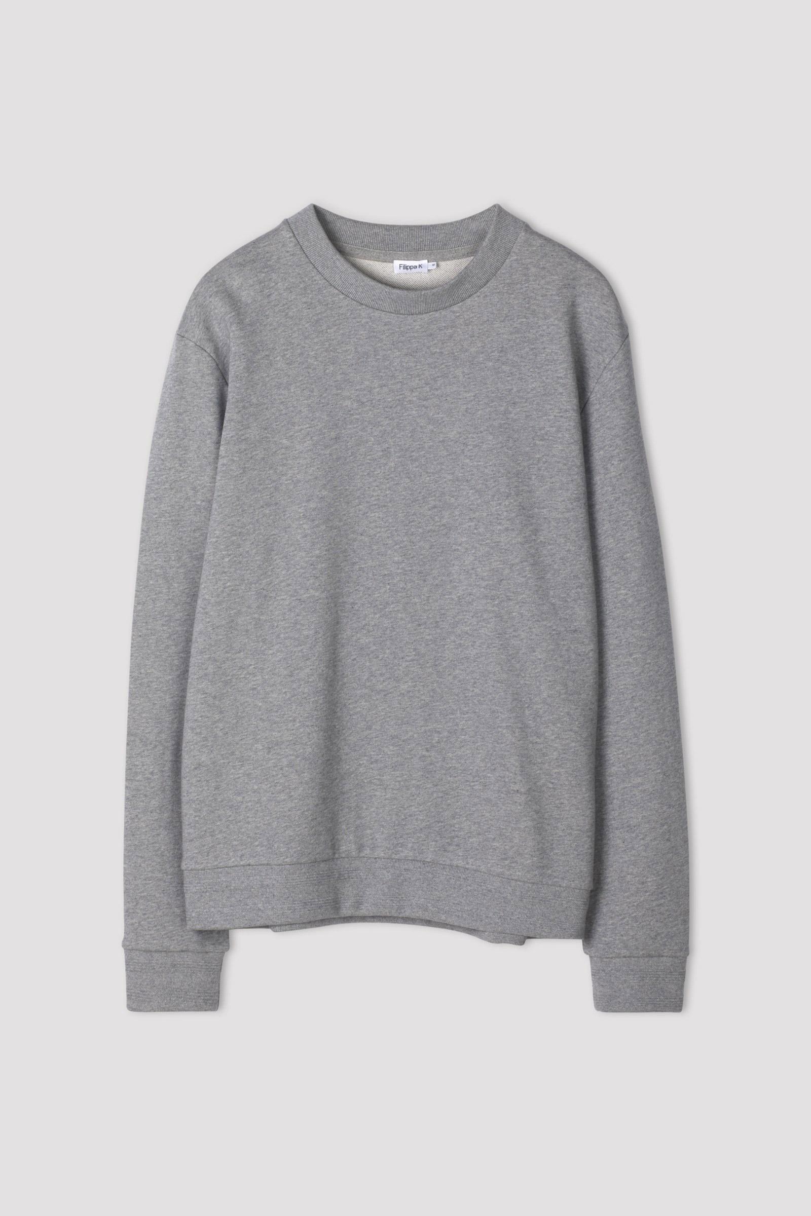 M. Isaac Sweatshirt Grey Melange