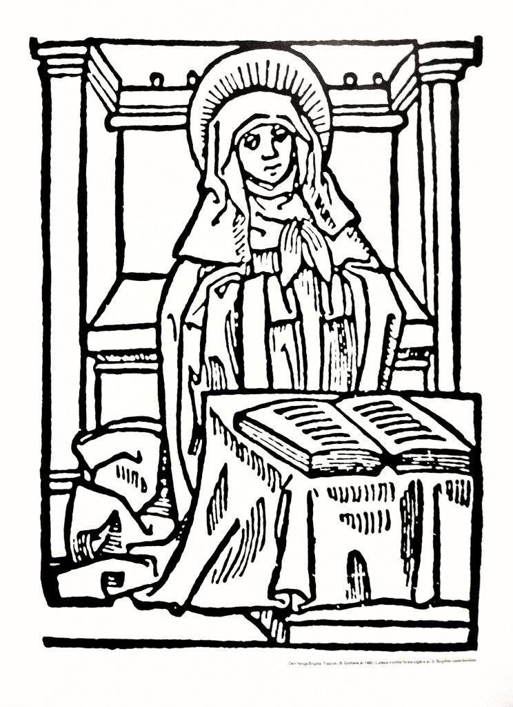 Birgitta-affisch (Träsnitt, 1492)