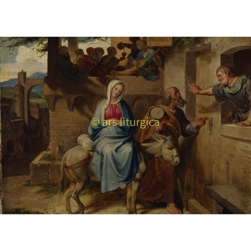 Utanför Betlehems härbärge (Joseph von Führich)