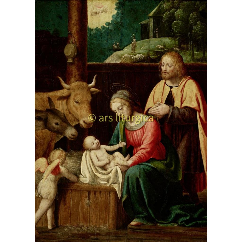 Kristi födelse (Luini 14-1500-talet) 2
