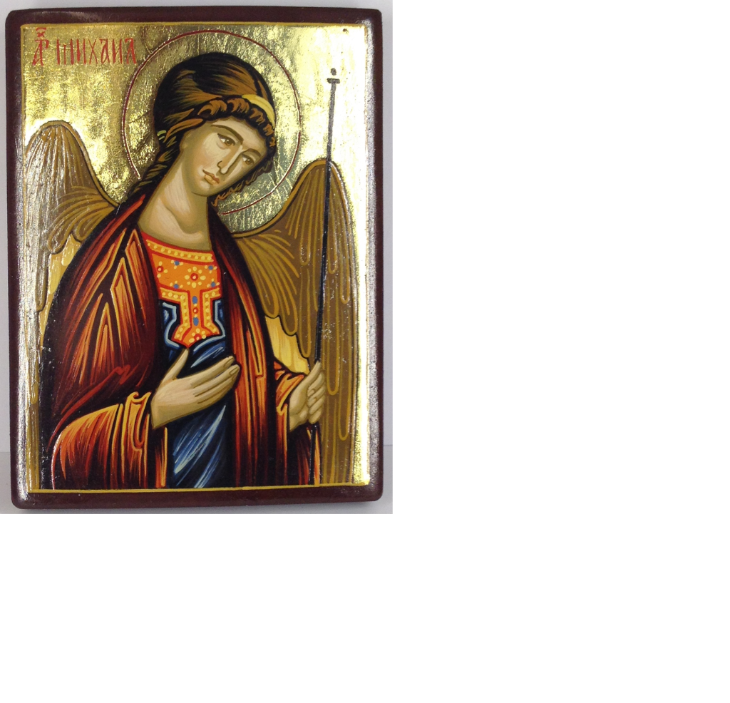 Ärkeängeln Mikael, äkta ikon