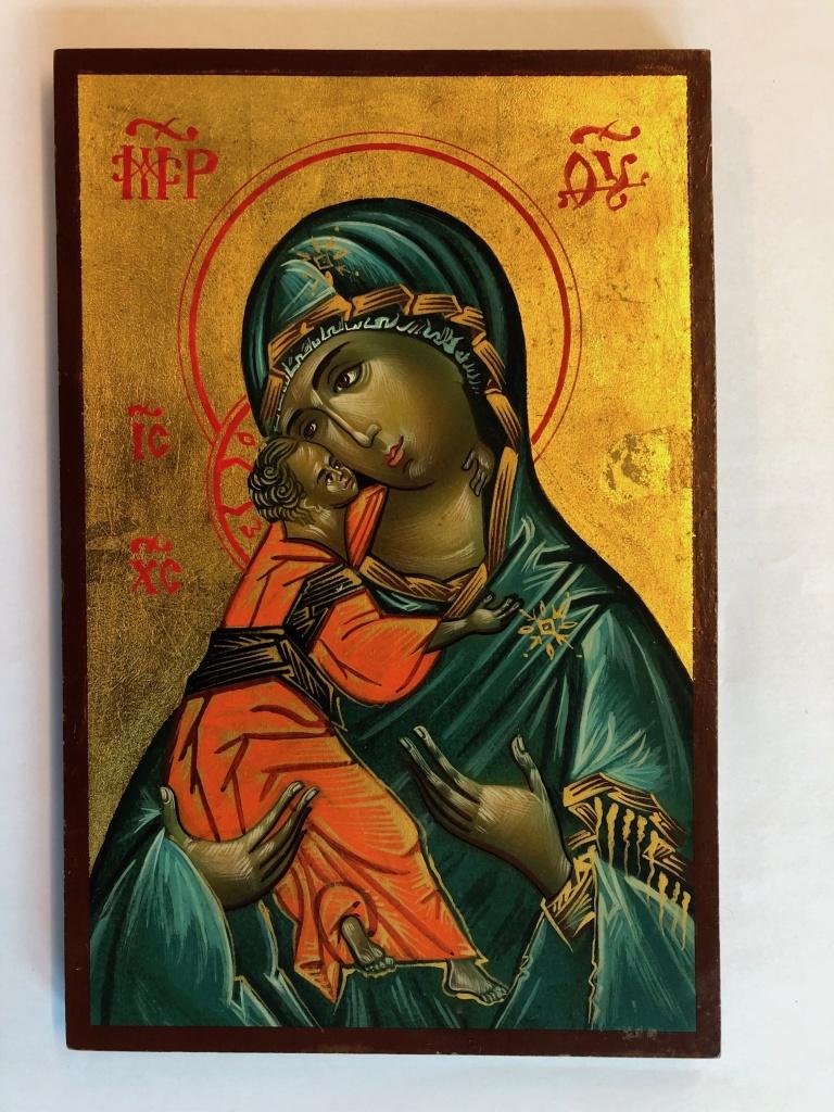 Ömhetens Gudsmoder (20x30), äkta ikon