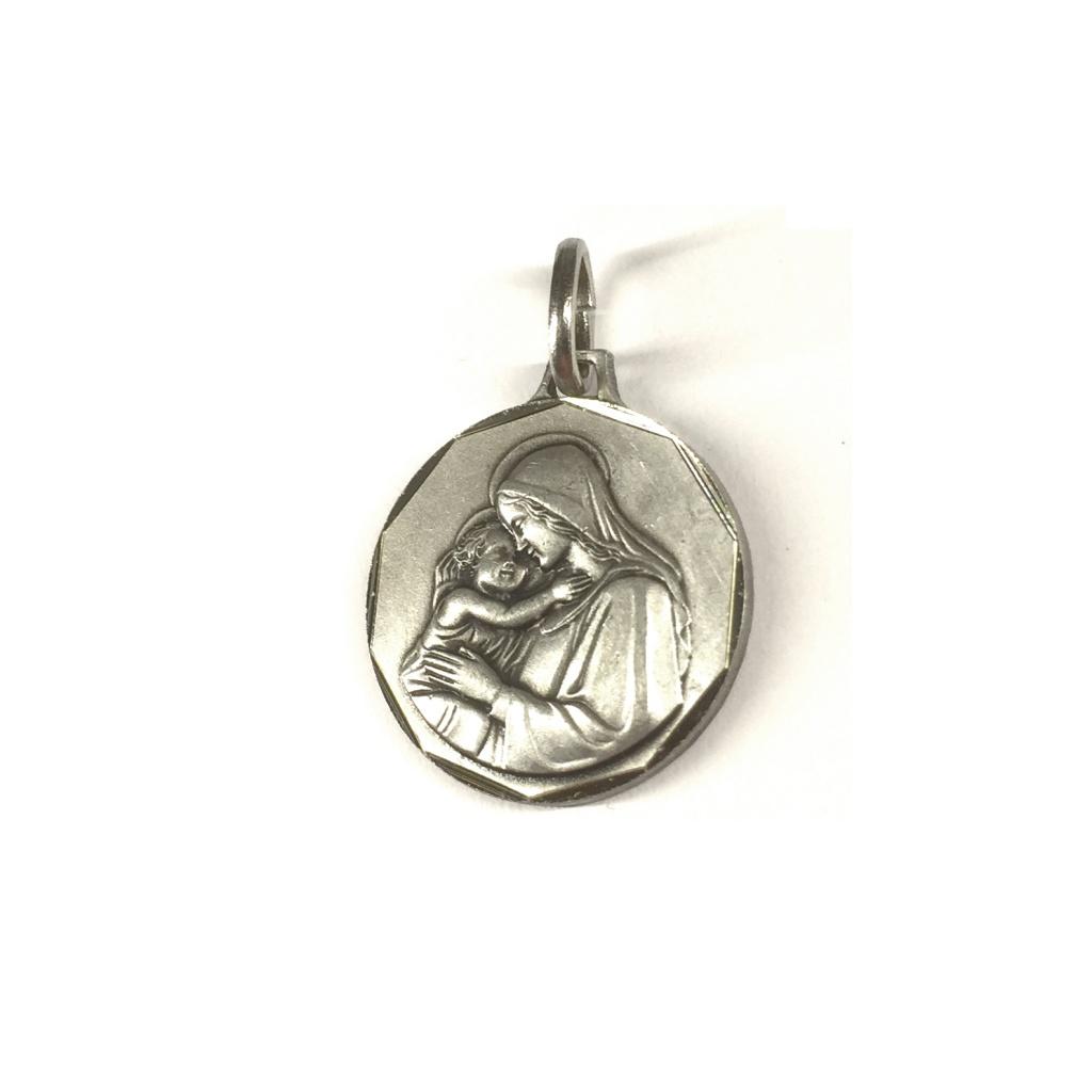 Maria m Jesusbarn, relief (medalj)