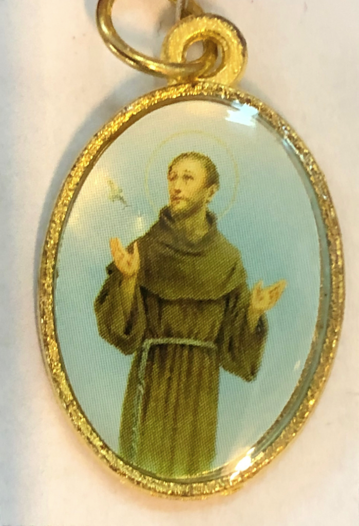 Hl Franciskus av Assisi, färg