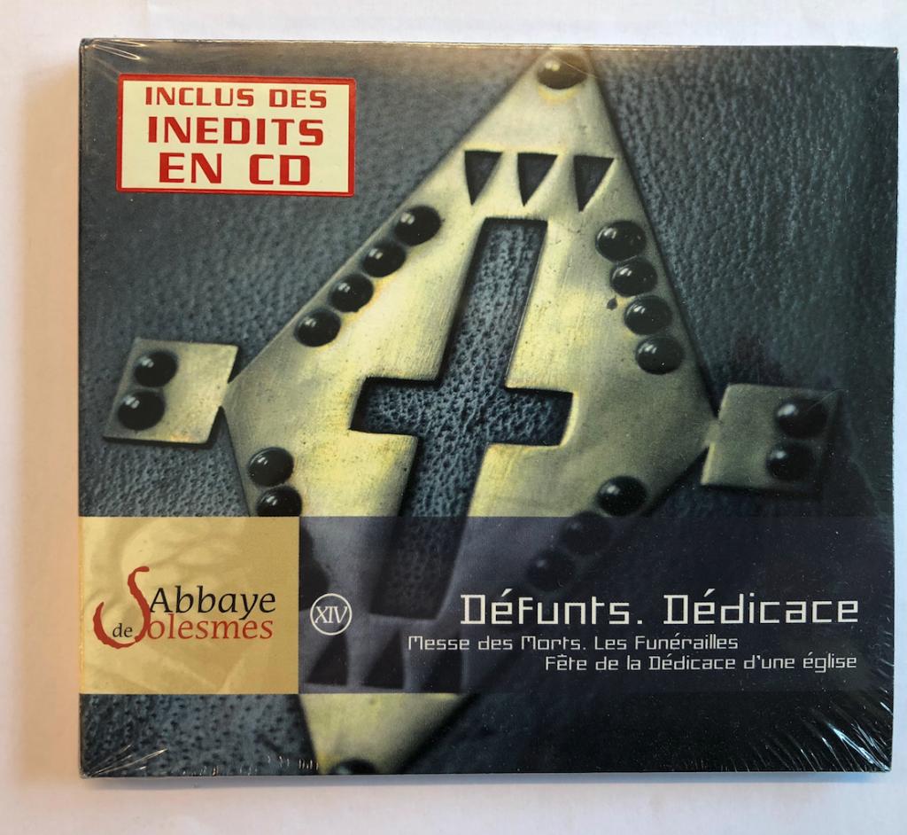 Requiemmässa, Begravning, Kyrkoinvigning - DéFunts. Dédicace (CD)
