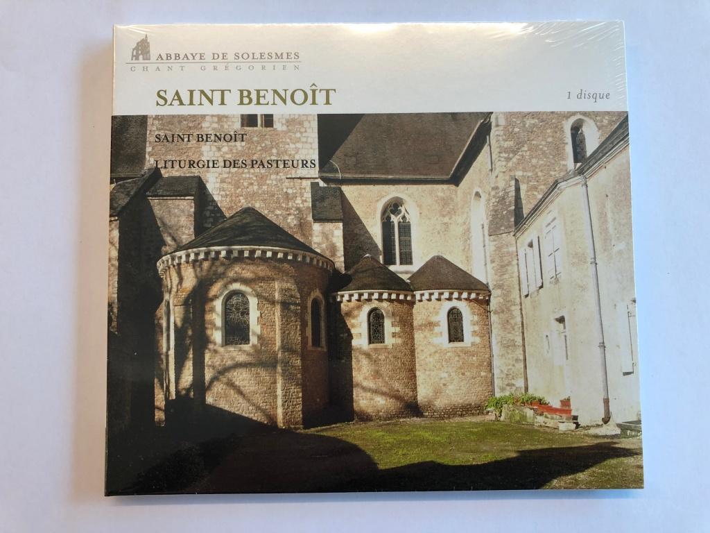 Benediktinordens grundare - Saint Benoît (CD)