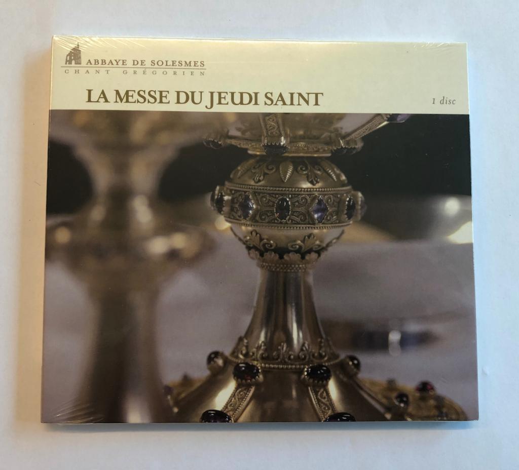 Skärtorsdagens Mässa + procession - La Messe de Jeudi Saint (CD)