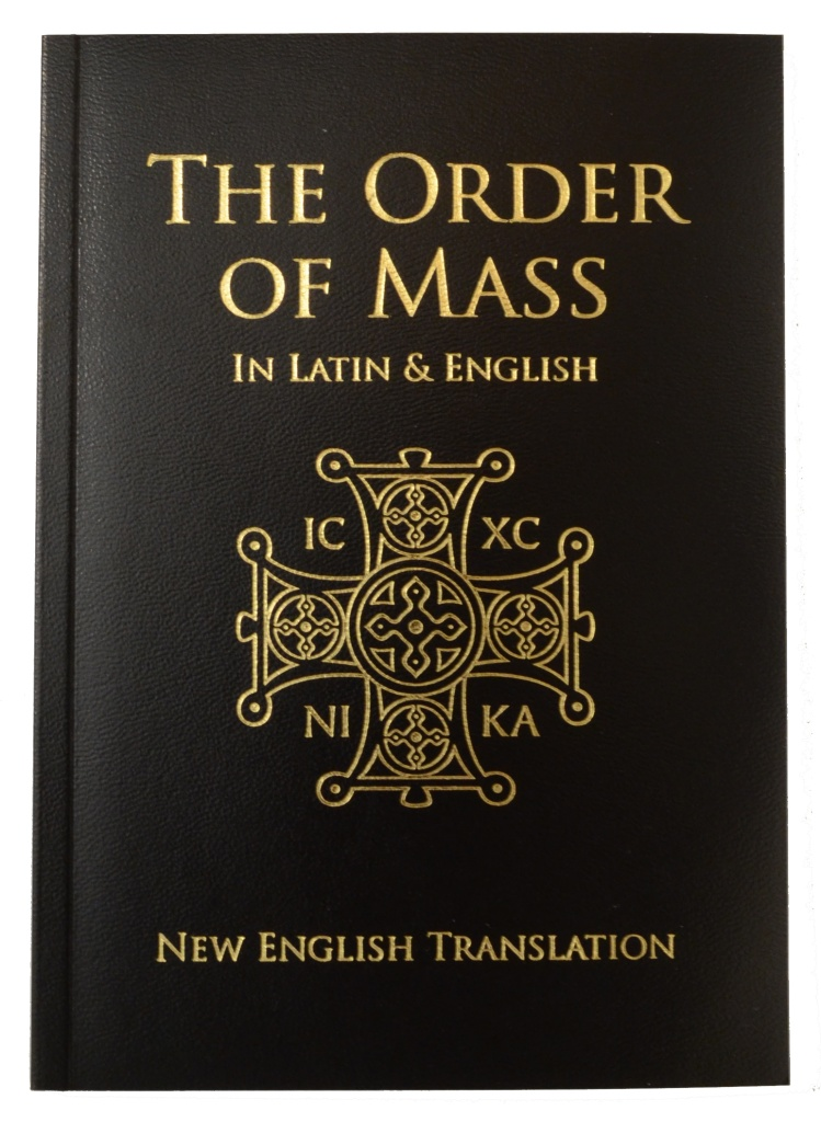 Order of Mass, Latin & English (CTS), Presentation Ed.