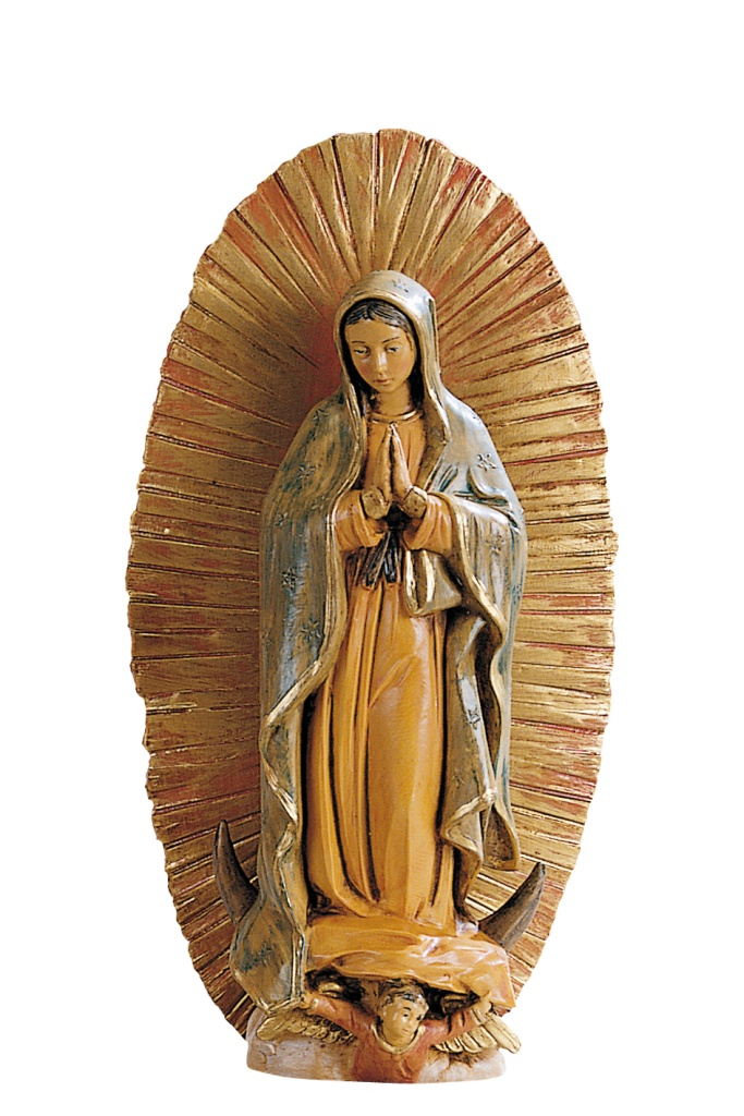 Madonna Guadalupe, 18 cm