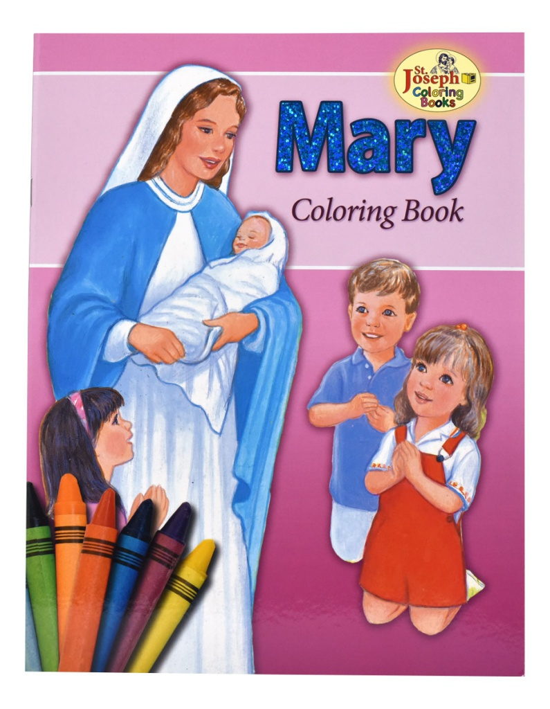 Mary - COLORING BOOK