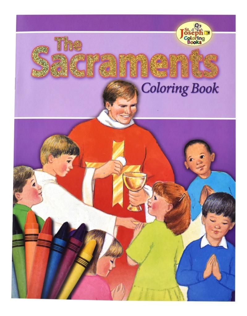 Sacraments, the - COLORING BOOK