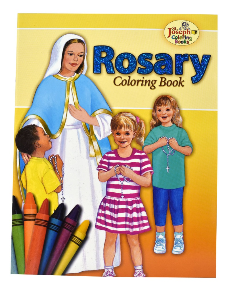 Rosary - COLORING BOOK