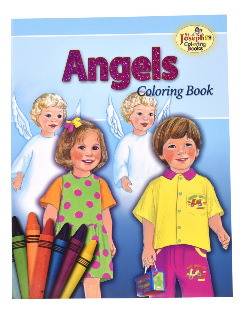 Angels - COLORING BOOK