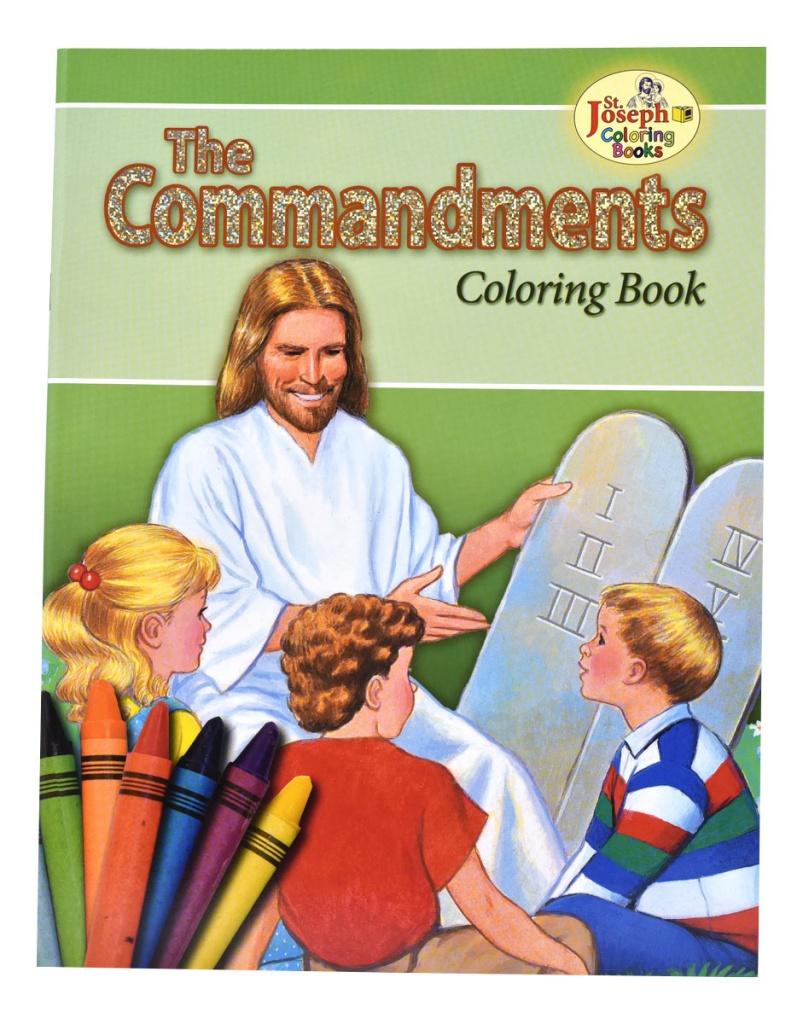 Commandments, the - COLORING BOOK