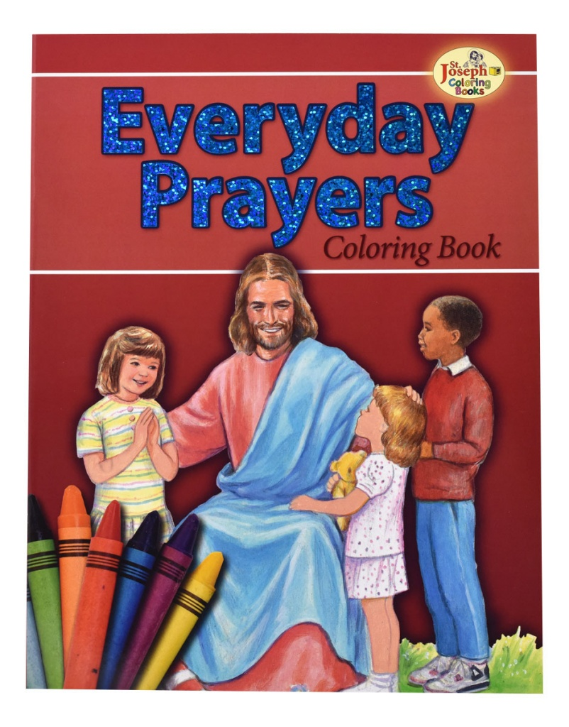 Everyday Prayers - COLORING BOOK