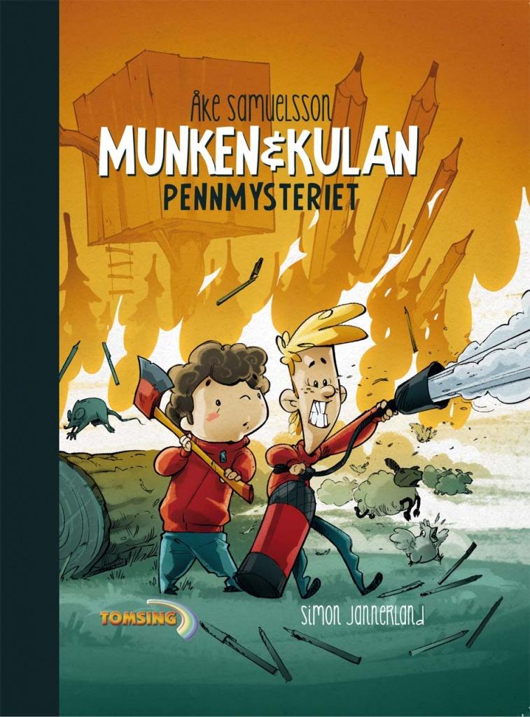 Munken & Kulan 6(6) - Pennmysteriet