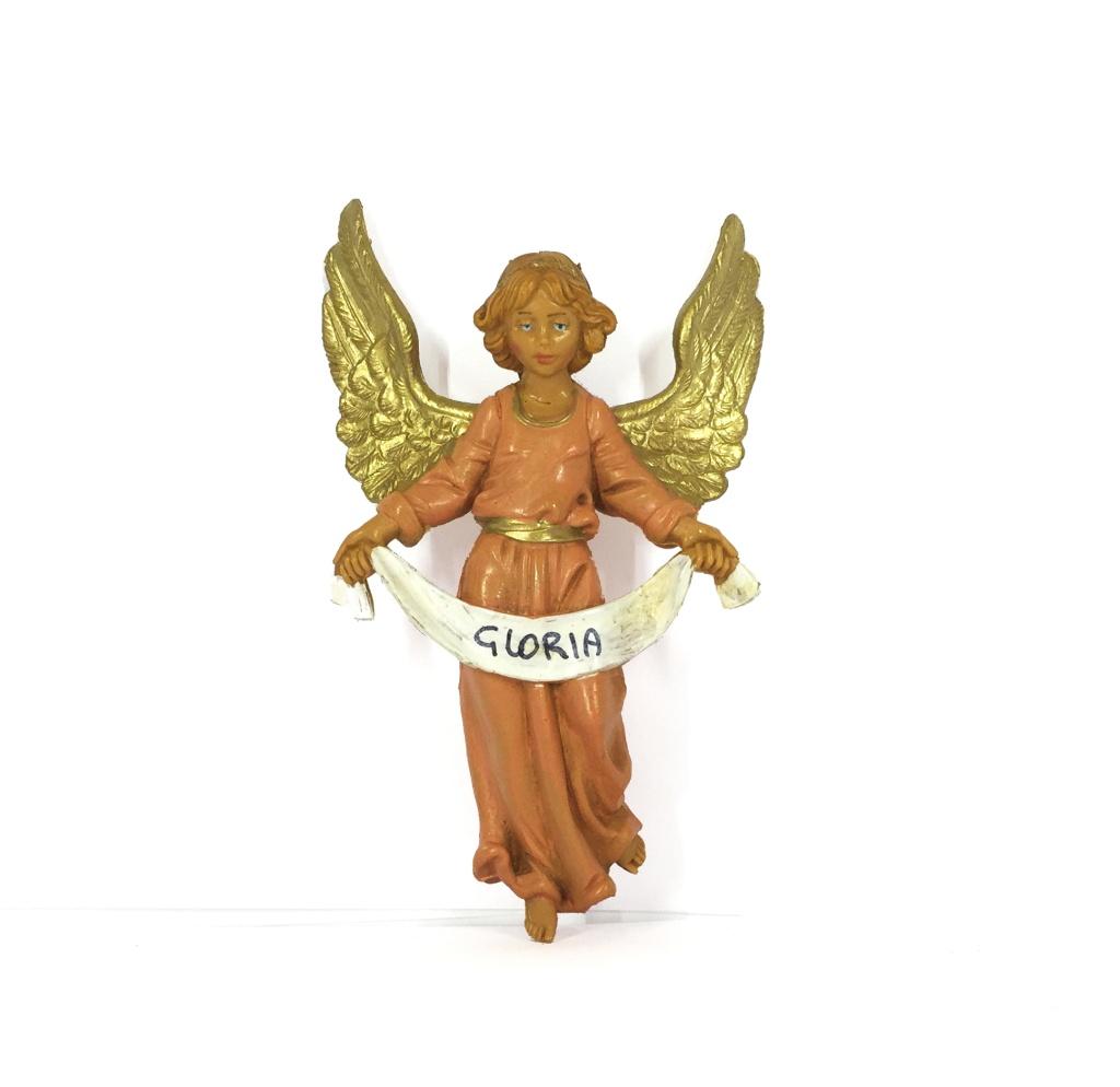 Ängel, Gloria, röd (10 cm)