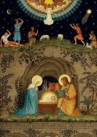 Julkort stallet & Jesu stamtavla (Beu)