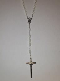 Rosenkrans pärlor silver