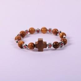 Armband, olivträ, rött kors, Israel