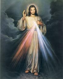 Gudomliga barmhärtigheten (23 x 20cm)