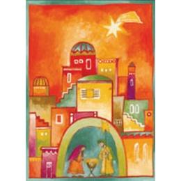 Julkort, I Betlehem